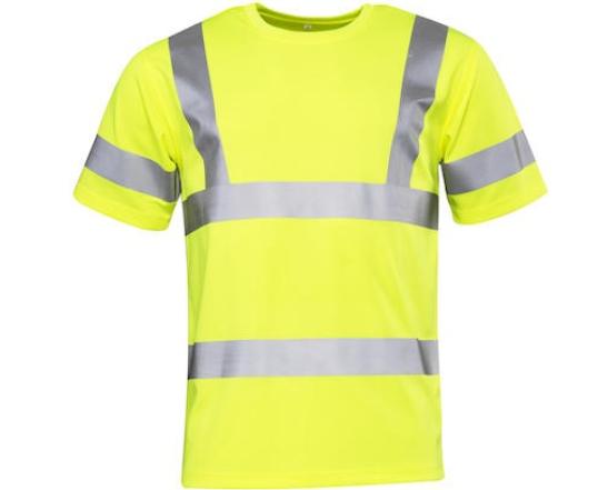 T-shirt Worksafe klass 3 HiVis Strl. L