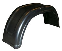 Skärm, plast, B=220 mm (hö/vä)
