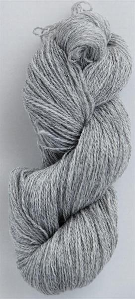 2-tr ullgarn mellangrå