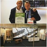 -Pris för Bästa Monter! RP Möbler, Danmark. 6m x 2m.