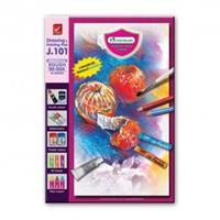 Väritys- ja piirustuslehtiö 260x375mm