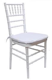Tiffany stoler hvit