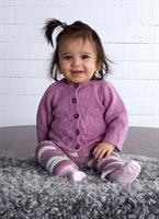 Babykofta och leggings i Moshi