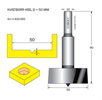 Kvistborr HSS D=50, TL=90