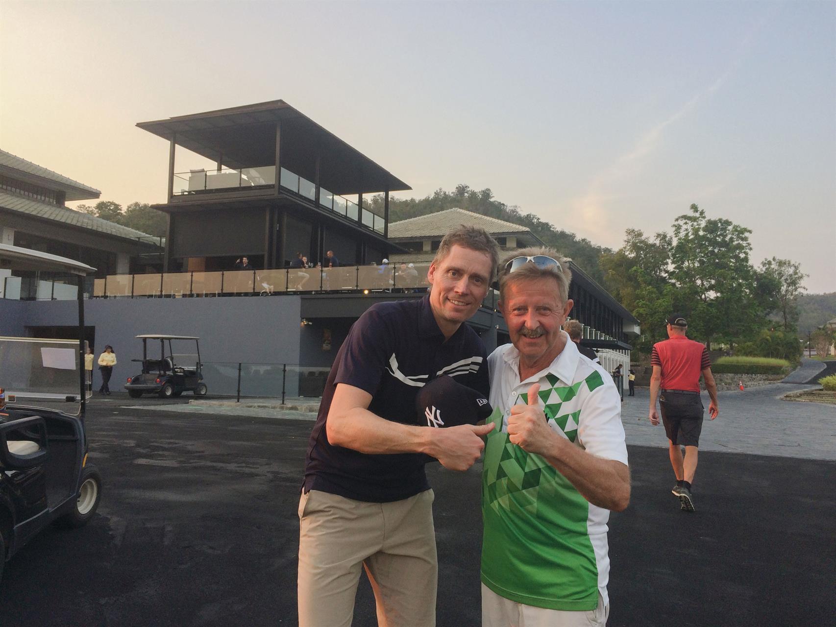 Golf med Jörgen P.