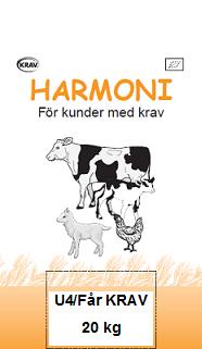 Harmoni U4/Får KRAV 20 kg
