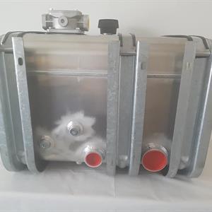 """Alumiinihydraulisäiliö 250Litraa 2""""+3"""""""