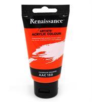 Akryylimaali 75ml, muovituubi, AAC 150, Cadmium Orange