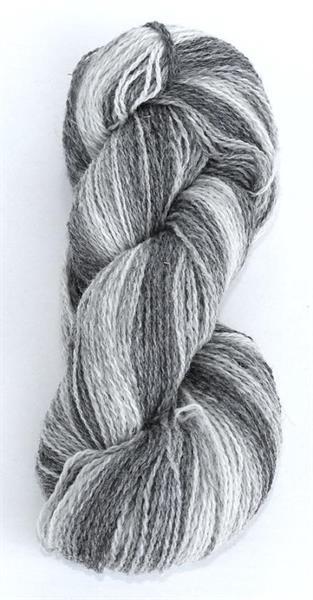 1-tr ullgarn gråombré