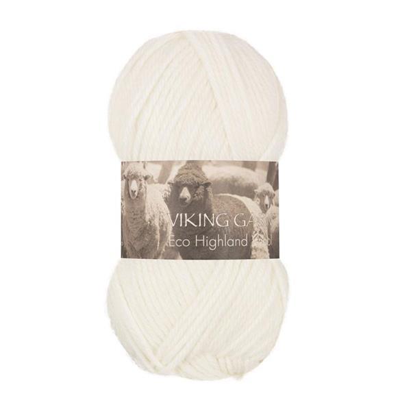 V Highland Eco Wool vit