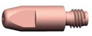 K-rör M6x28 0.6mm BZ