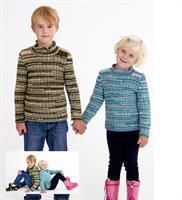 Strukturst. tröjor till barn