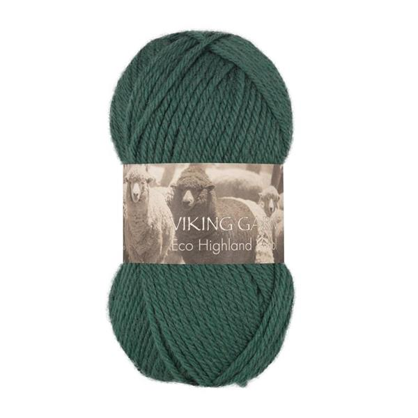V Highland Eco Wool mörkgrön