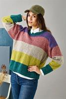 Randig sweater i Dagmar
