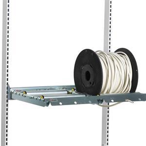 Bobinhållare för två bobiner förstärkt