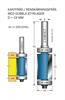 Kantfräs med 2 st styrlager Z2 D19 L32 TL70