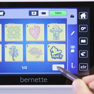 Bernette B70 Deco kirjontakone