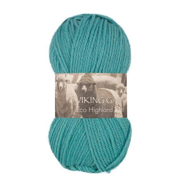 V Highland Eco Wool turkos