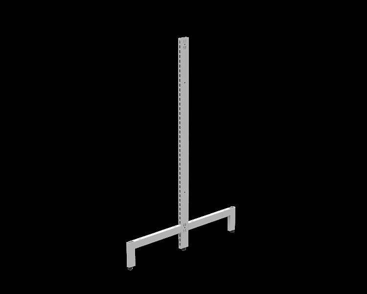 T-stativ 70x25 hög fot 2300