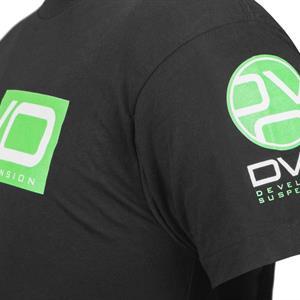 T-Shirt DVO Black/green Smal