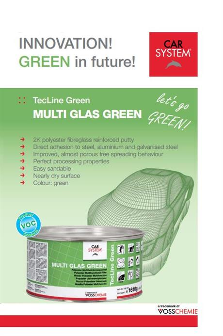 Multi Glas Green