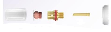 Gassparkit LL 1,6mm
