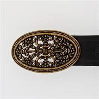 100216 Belte: sort / black