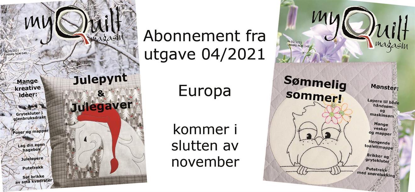 Abonnement-Europa fra utgave 4/2021