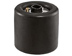 Gummiluftrulle D100xB100mm