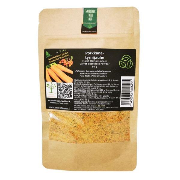 Porkkanatyrnijauhe 50 g