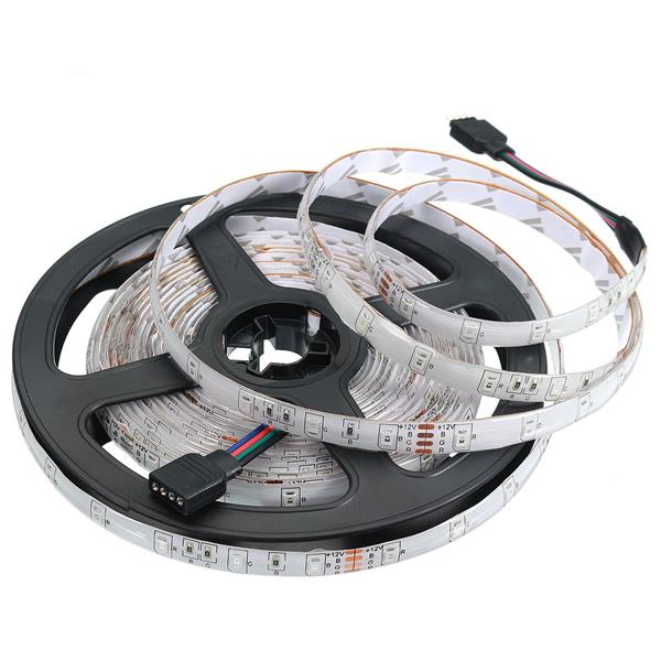 LED-Strip (5 meter) 12W/M Röd/Grön/Blå IP65 12V