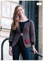 Liten damkofta i Renew Wool