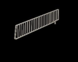 Avdelare för trådhylla 530