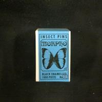 Insektsnål nr 00(100st) svarta