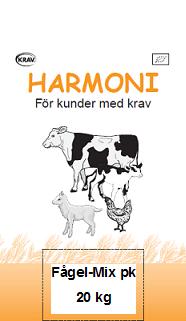 Harmoni Fågel-Mix Pk 20 kg