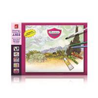 Väritys- ja piirustuslehtiö 275x375mm