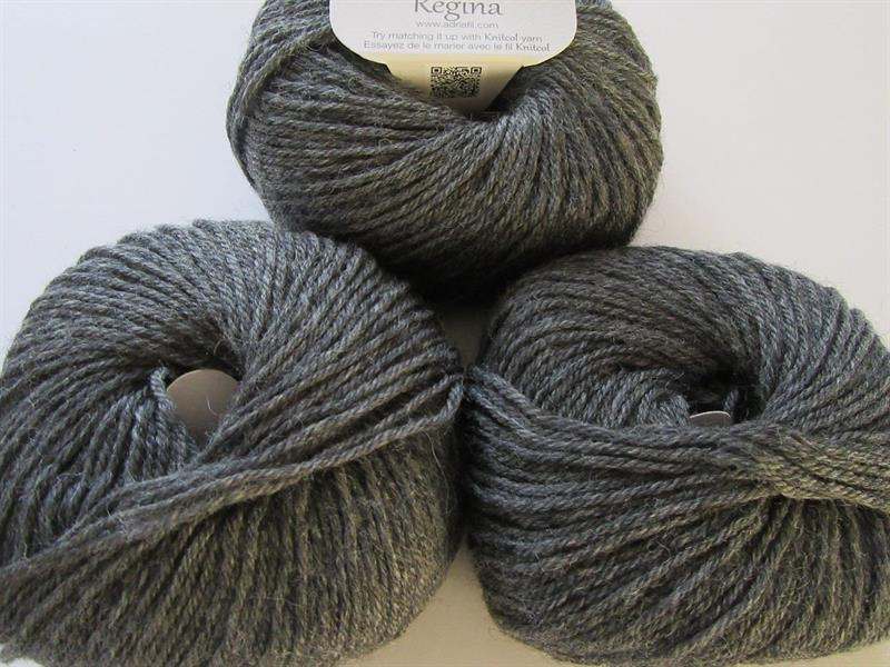 Regina Melange Dark Grey