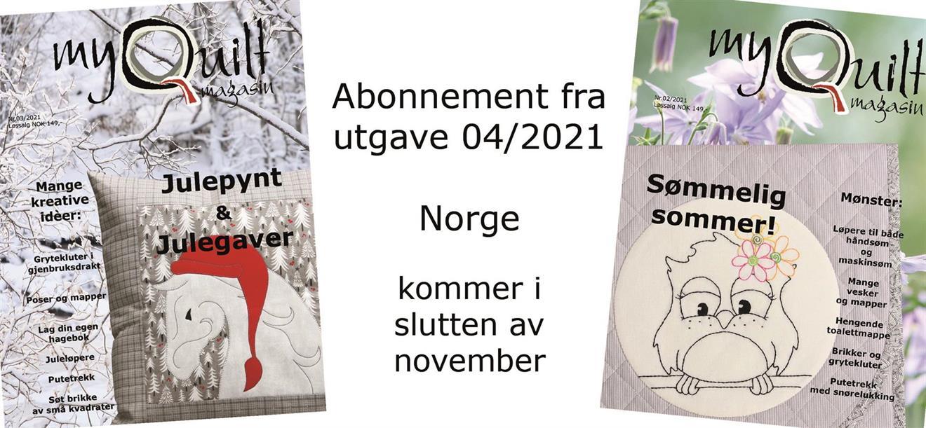 Abonnement-Norge fra utgave 4/2021