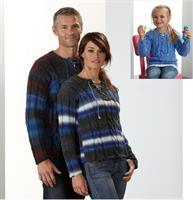 Flätst tröjor till hela familj