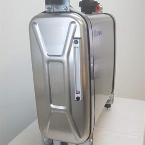 Etusinä/Sermisäiliö 120 litraa alumiinia