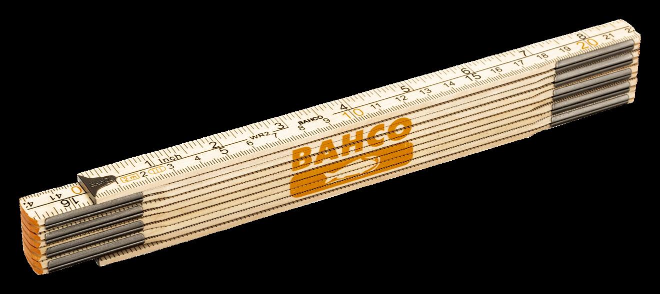 Meterstock 2m Bahco