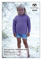 Barntröja i Soft Lama Fine
