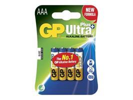 Batteri GP AAA Ultra Plus Alkaline 4-p LR03