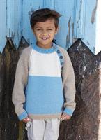 Raglantröja till barn i Soft Lama