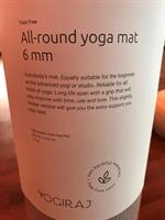 All-round yogamatte 6 mm, Yogiraj
