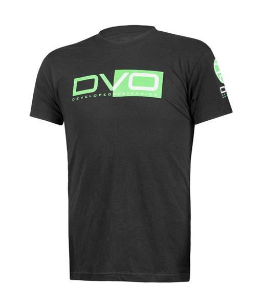 T-Shirt DVO Black/green Large
