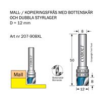 Mallfräs D12 L8 TL50