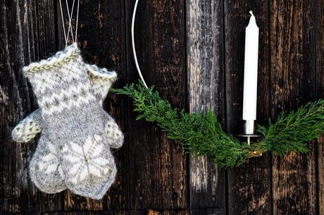 #Julvanten Järbo - Julevotten fra Järbo strikket med Istex Lettlopi 100% islandsk ull