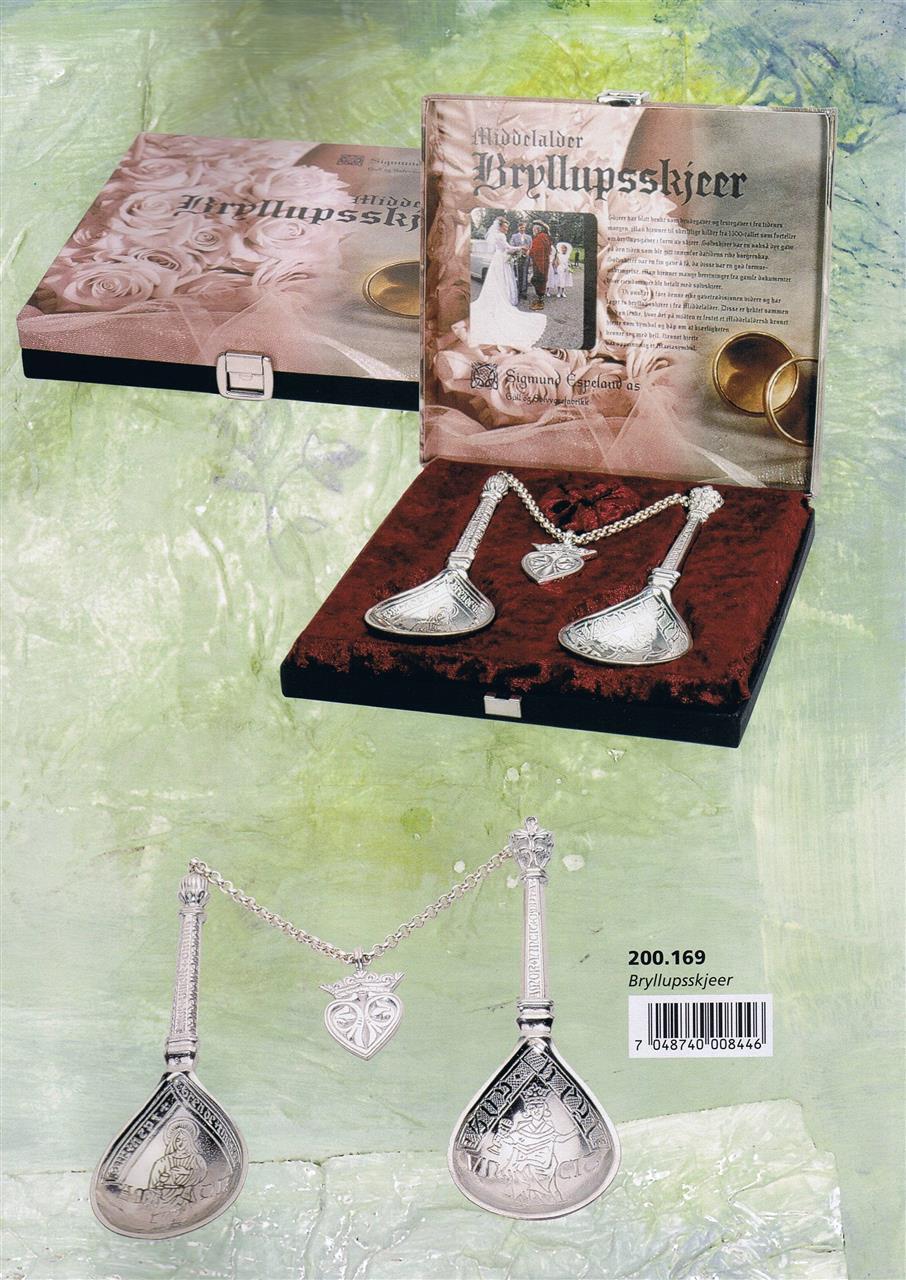 Brudeskjeer Weddingspoons