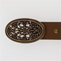 100216B Belte: brunt / brown